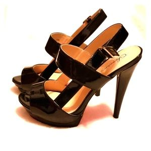 Shoe Dazzle 'Signature  sole' heel